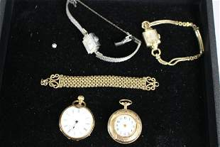 Group of Gold & Gold-Filled Jewelry