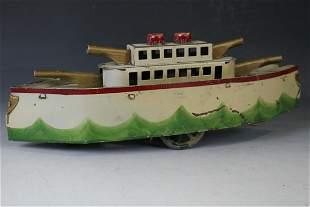 Dated 1909 Dayton Hillclimber Gun Boat Toy
