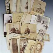 Large Group of Lancaster OH Area Cabinet Cards