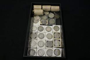 105 Silver Dollars Misc Dates - FV $105