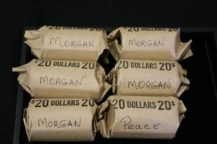 120 Silver Dollars Misc Dates