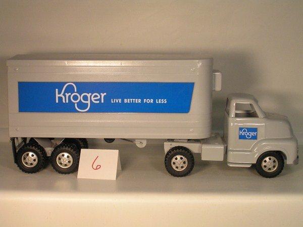 6: 1950s Ohio Art Buckeye #785 Kroger Refrigerator Tran