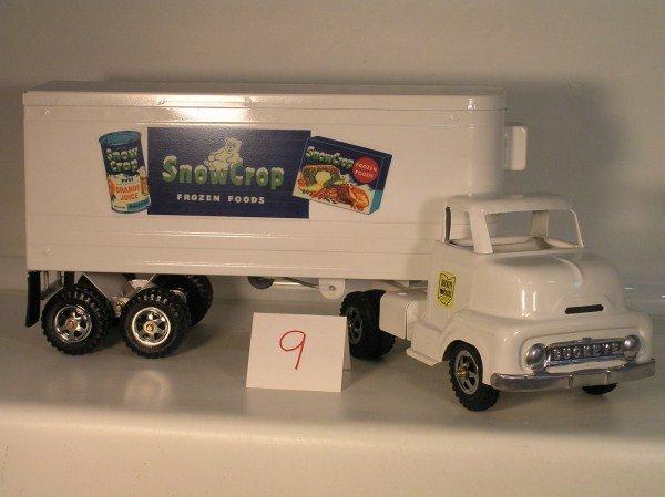 9: 1950s Ohio Art #785 Buckeye Snow Crop Refrigerator T
