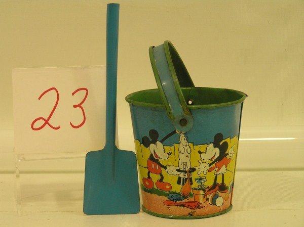 "23: Ohio Art 1933 ""Mickey Magician"" Mickey Mouse Minnie"