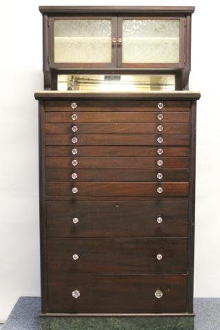 12: Dental Cabinet with Tools