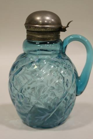 13: Northwood Parian Swirl Syrup Pitcher