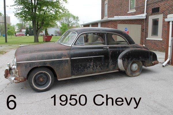 1950 Chevy Parts Car