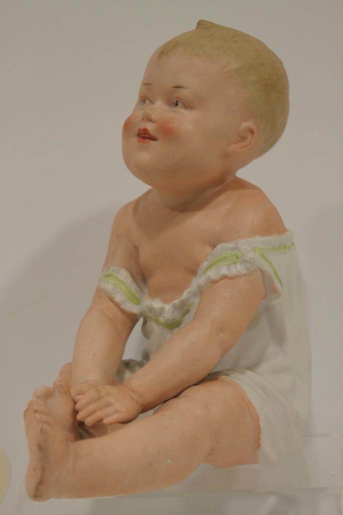 Made in German Heubach Piano Baby