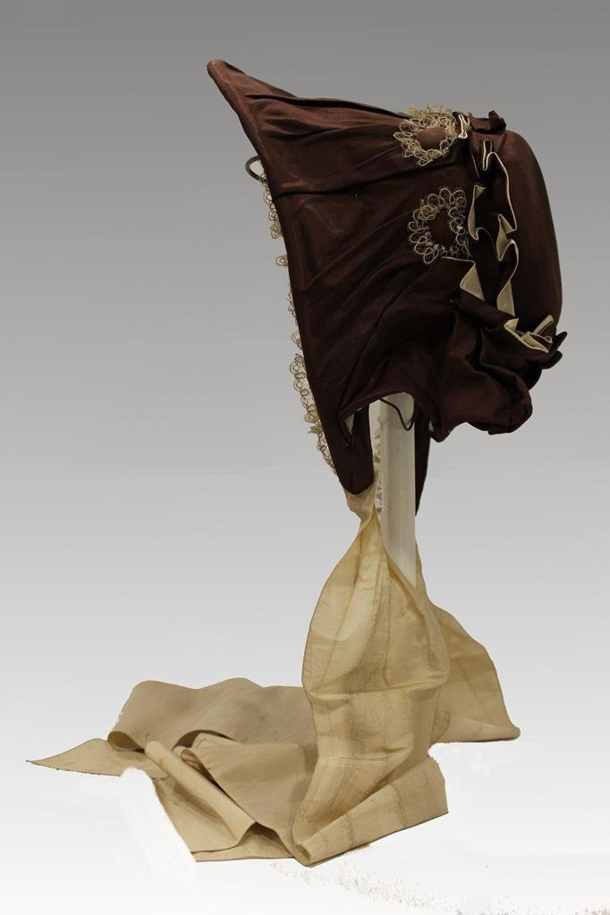 19th C Bonnet from Museum 1 of 50 Selling