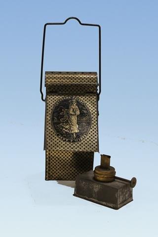 1875 Stevens Patent Skater's Lamp