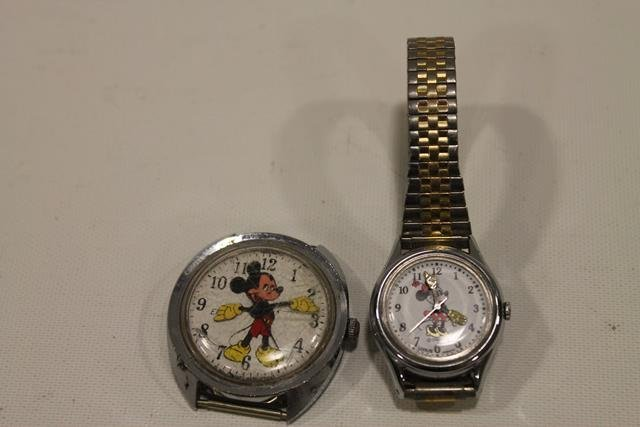 Mickey & Minnie Mouse Watches