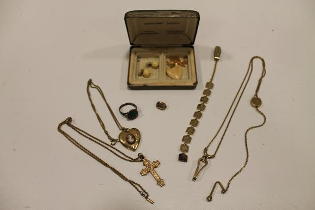 Grouping of Gold Filled Jewelry