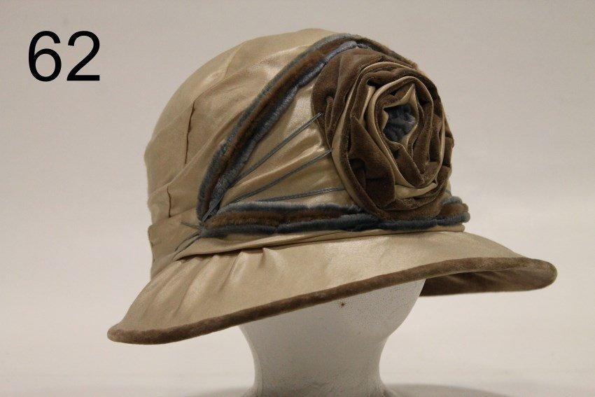 Edwardian Lady's Silk Hat / Cloche
