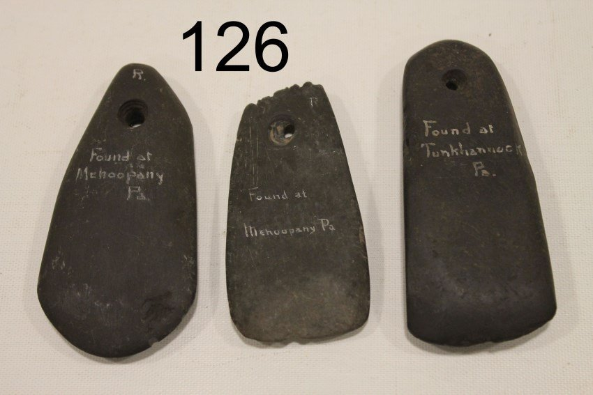 3 American Indian Artifacts - Old Museum