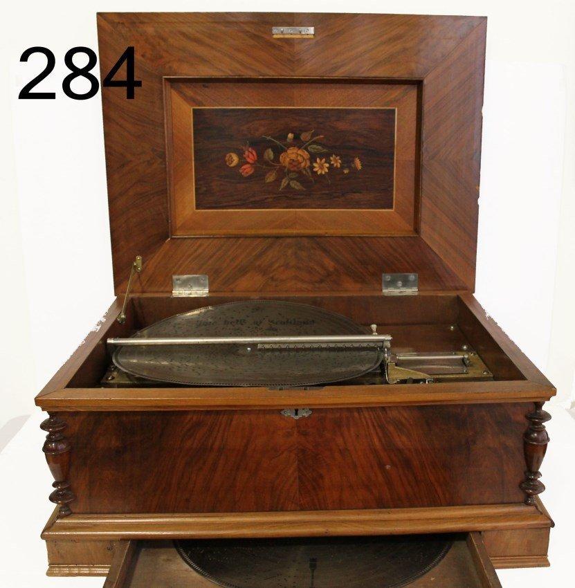 Large Size Stella Disc Music Box Table Model