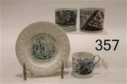 Childs Mugs  ABC Plate