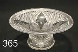 American Brilliant Period Cut Glass Hawkes Bowl