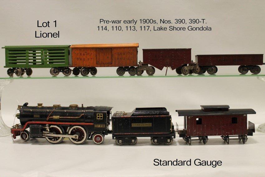 Early 1900s Lionel Train Set - Standard Gauge