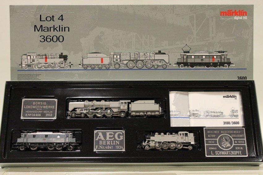 Marklin HO 3600 Digital Train Set