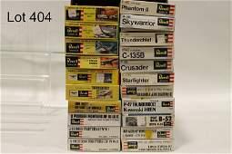 21 Revell Airplane Model Kits