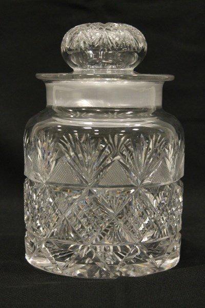 Cut Glass Dorflinger Colonial Humidor