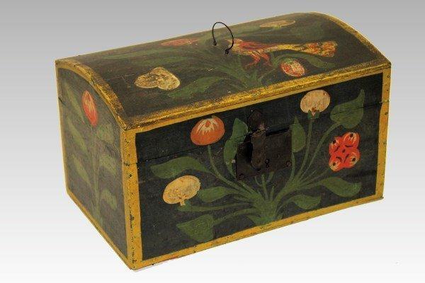Att. H. Bucher Berks County Bird Decorated Document Box