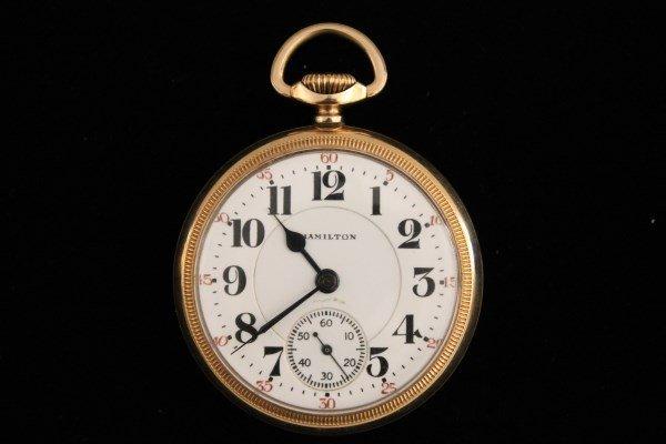 Hamilton 21J Pocket Watch