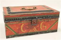 Pennsylvania Famous Grubb Family Tole Box