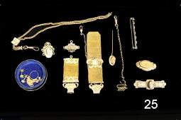 Group Victorian Jewelry