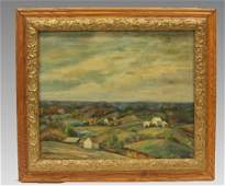 Toledo Ohio Artist Patricia Klewer O  C Painting