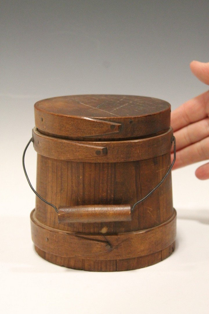"Miniature Shaker Firkin 5"" H"