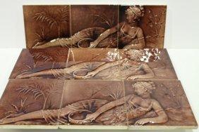 Trent Tile Co.encaustic Portrait Tiles 1890-05