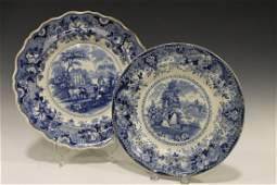 R Hall Transferware Plates 18221849