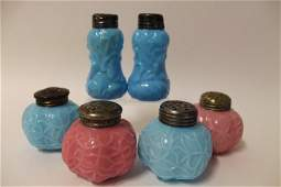 Victorian Dithridge Salt Shakers
