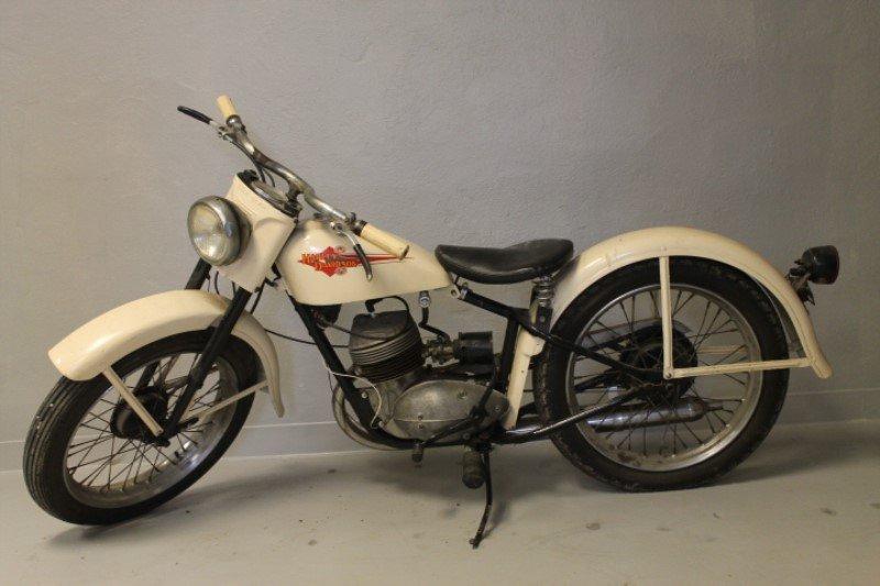 Harley Davidson Motorcycle 1960 Teleglide