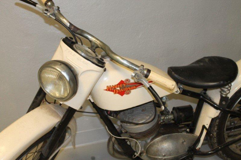 Harley Davidson Motorcycle 1960 Teleglide - 2
