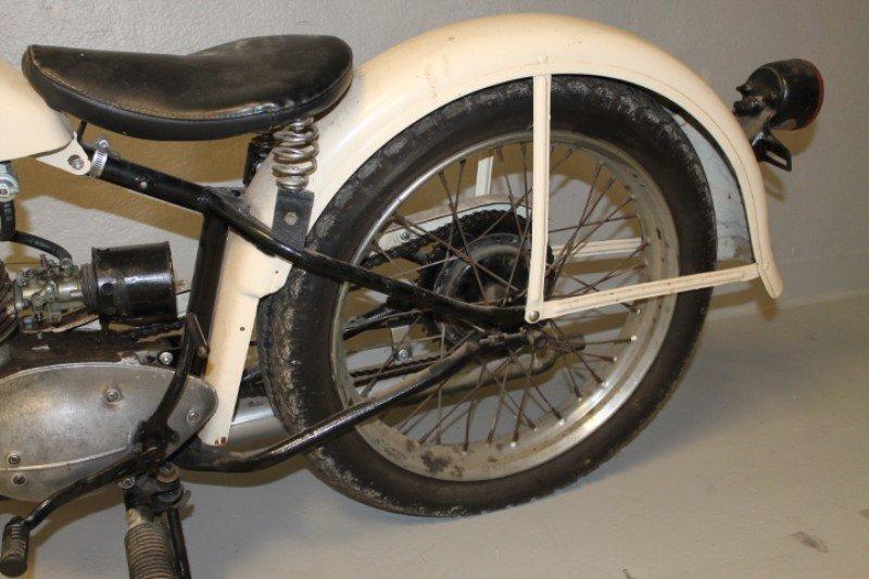 Harley Davidson Motorcycle 1960 Teleglide - 4