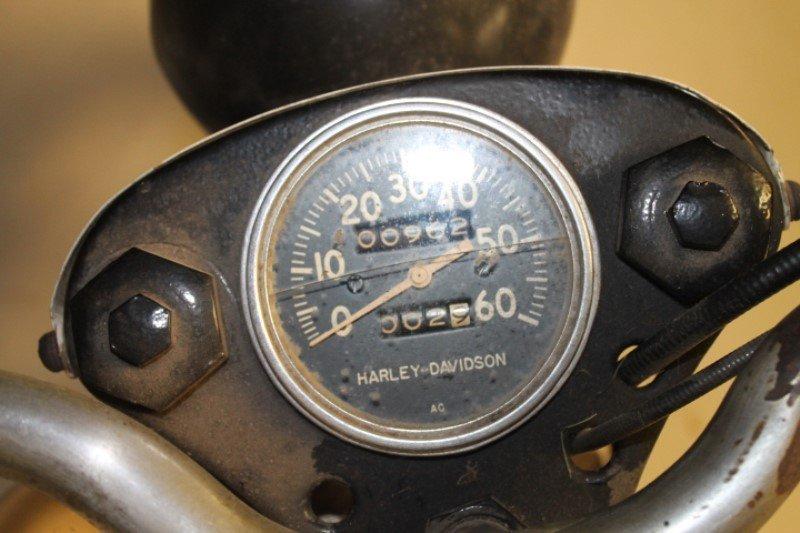 Harley Davidson Motorcycle 1960 Teleglide - 5