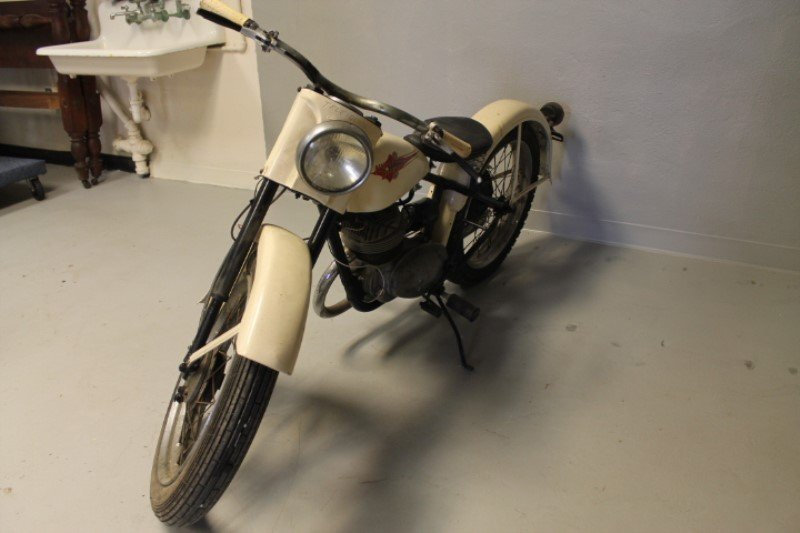 Harley Davidson Motorcycle 1960 Teleglide - 6