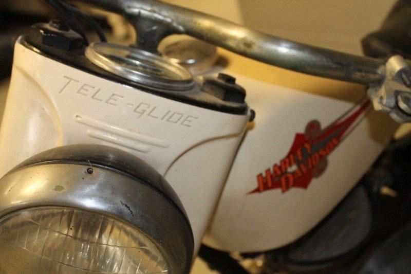 Harley Davidson Motorcycle 1960 Teleglide - 7
