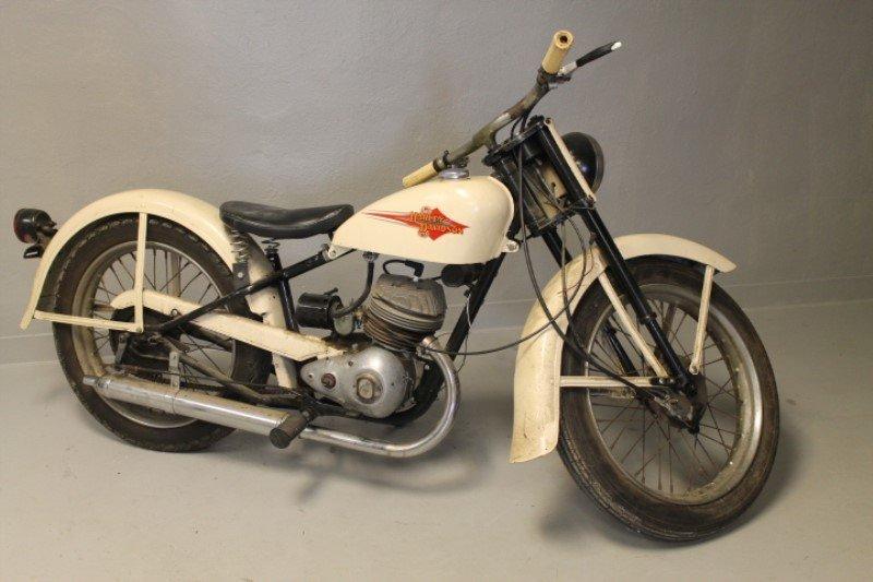 Harley Davidson Motorcycle 1960 Teleglide - 8