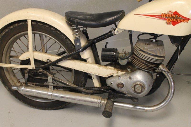 Harley Davidson Motorcycle 1960 Teleglide - 9