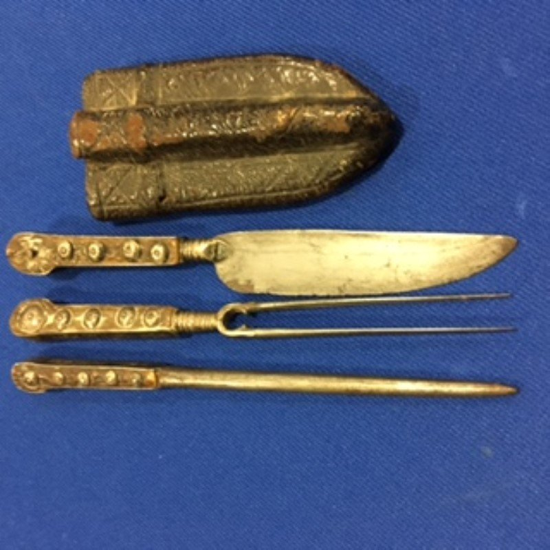 Dated 1812 Trousse -Traveling Utensil Set