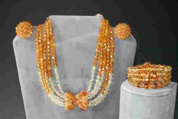 Coppola e Toppo Necklace Bracelet Earrings