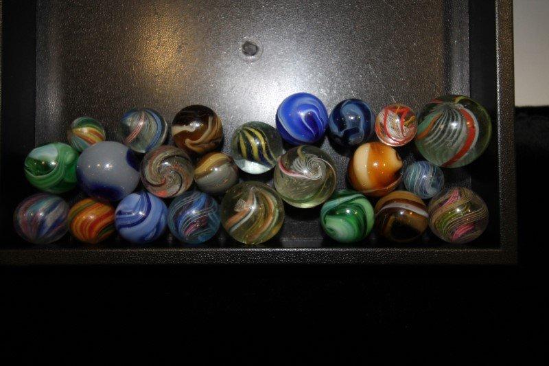 Early Handmade & Machine-made Marbles