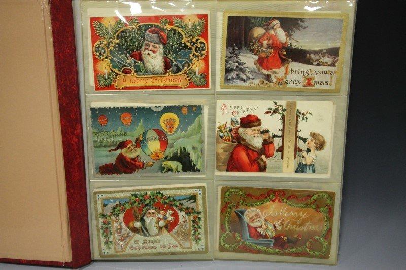 Santa Claus Christmas Holiday Postcards