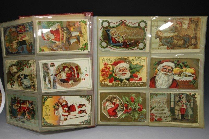 Santa Claus Christmas Holiday Postcards - 2