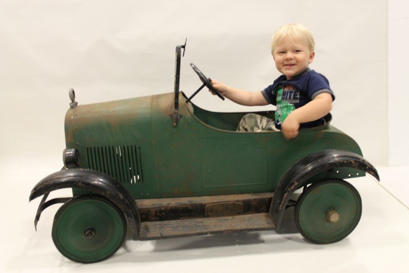 1920s Steel Craft Pedal Car - All Original