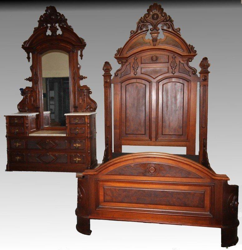 Fabulous Victorian Queen Size Bedroom Set