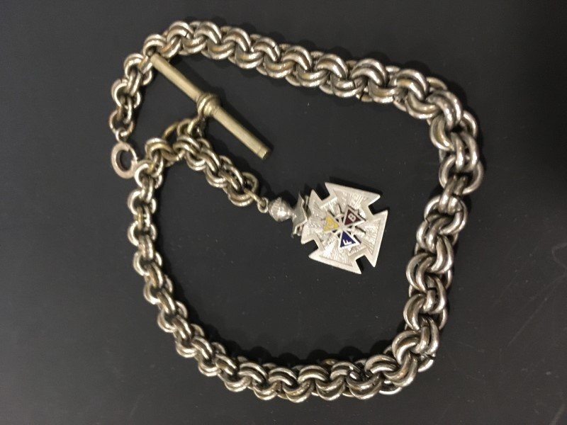 Albert Double Cable Link Watch Chain